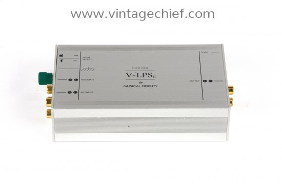 Musical Fidelity V-LPS II MM / MC Phono Preamplifier