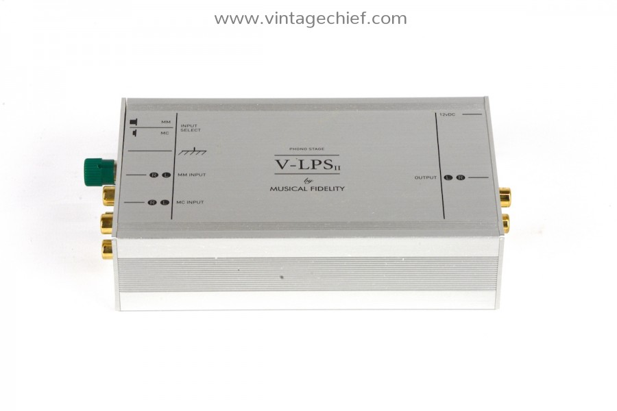 Musical Fidelity V-LPS II MM / MC Phono Preamplifier