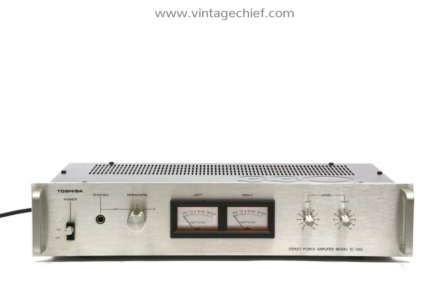Toshiba SC-330 Power Amplifier