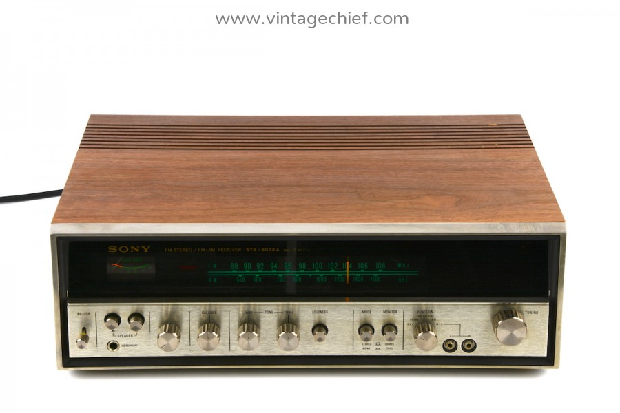 Sony STR-6036A Receiver