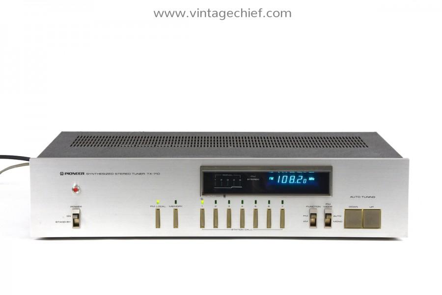 Pioneer TX-710 FM / AM Tuner