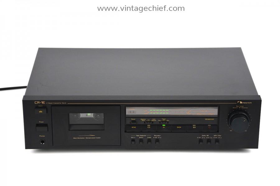 Nakamichi CR-1E Cassette Deck