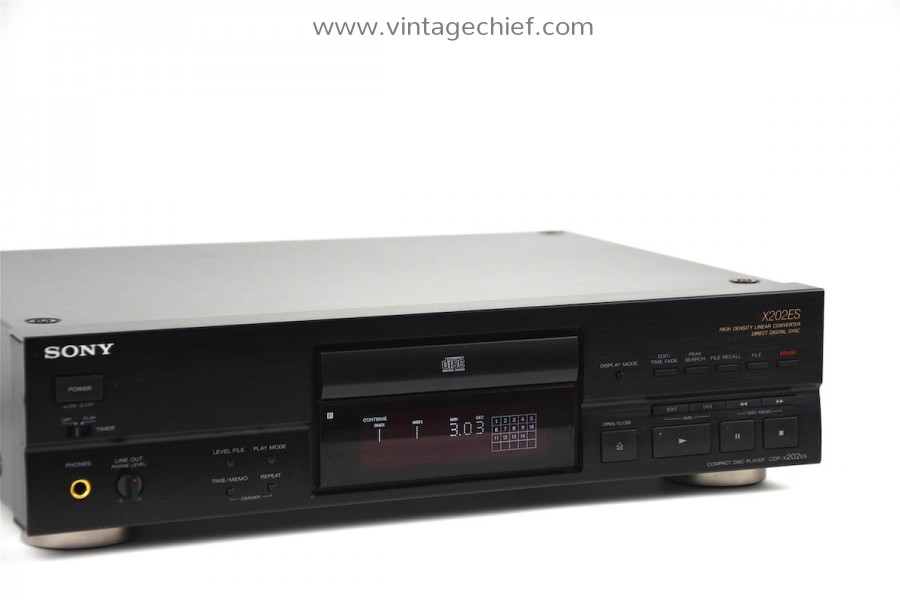 Sony CDP-X202ES CD Player