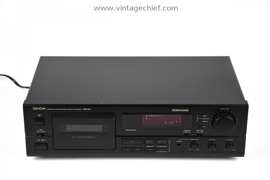 Denon DRM-555 Cassette Deck