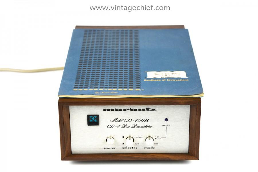 Marantz Model CD-400B CD-4 Disc Demodulator