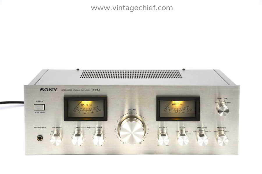 Sony TA-F4A Amplifier
