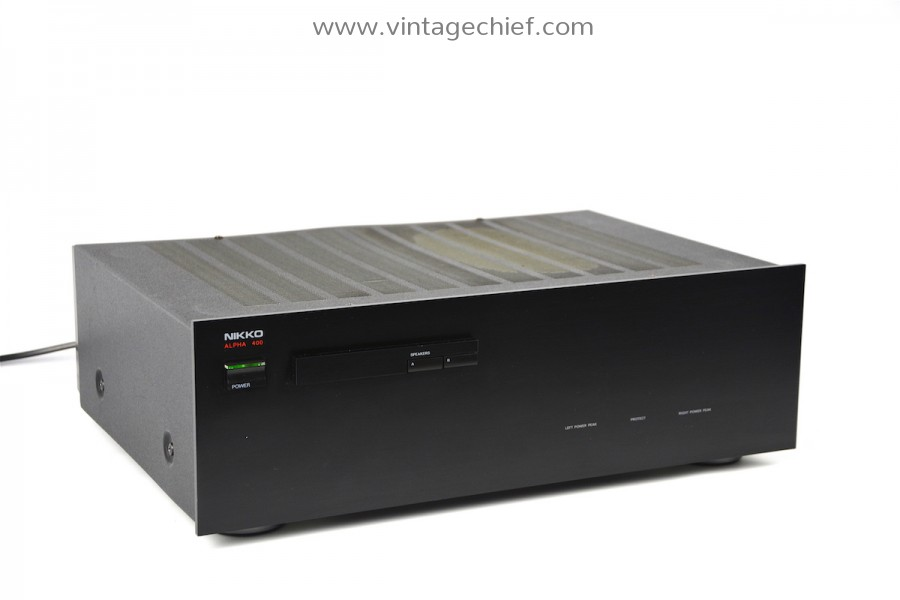 Nikko Alpha 400 Power Amplifier
