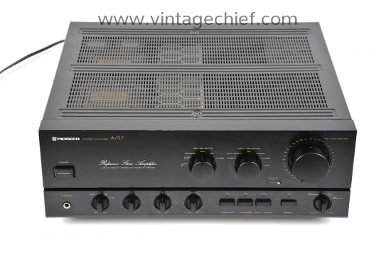 Pioneer A-717 Reference Amplifier