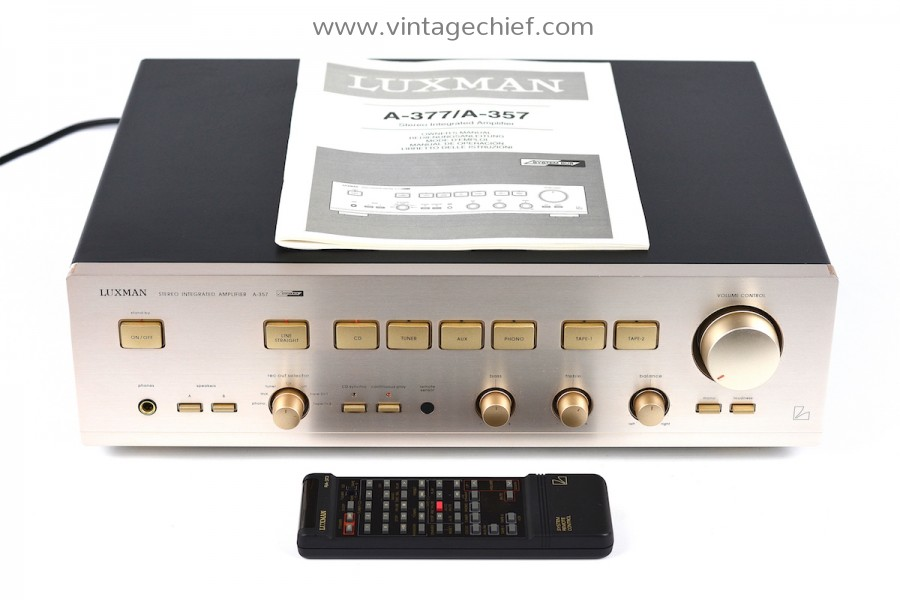 Luxman A-357 Amplifier