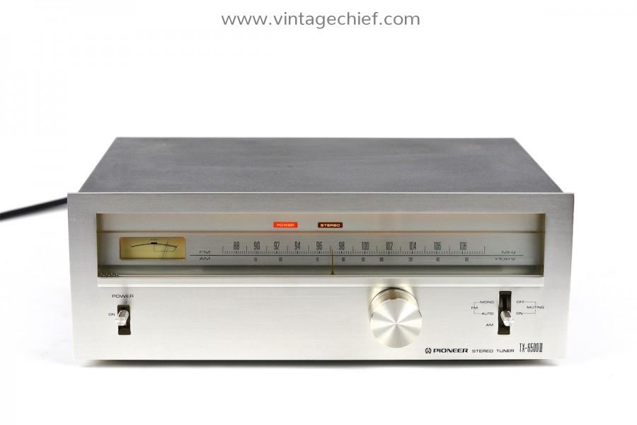 Pioneer TX-6500 II FM / AM Tuner