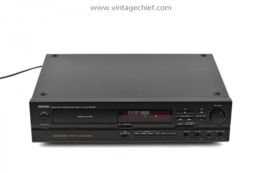 Denon DRS-640 Cassette Deck