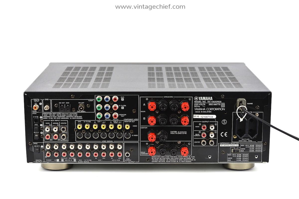 Yamaha RX-V620RDS Receiver | Natural Sound AV Receiver
