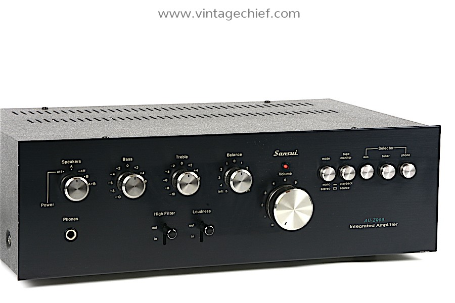 Sansui AU-2900 Amplifier