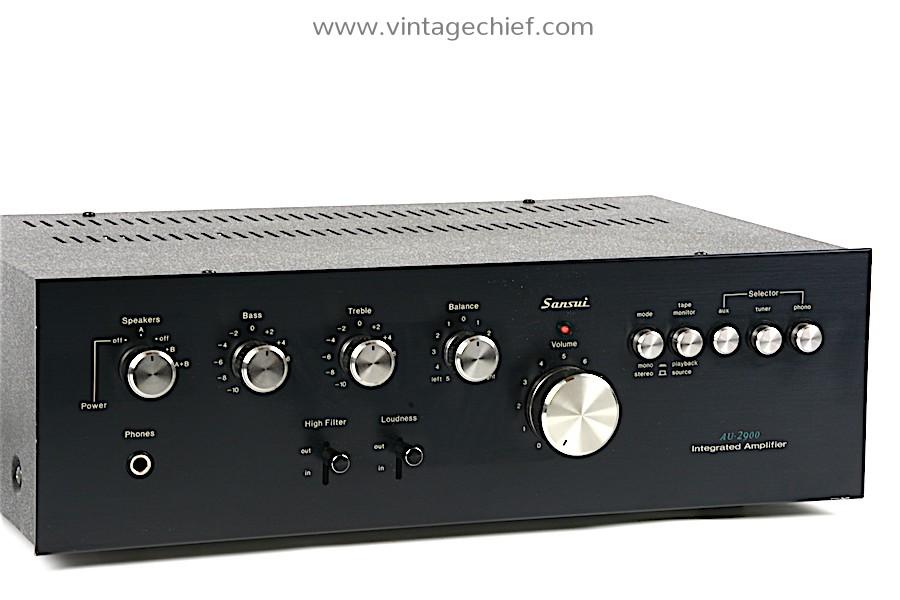 Sansui AU-2900 Amplifier