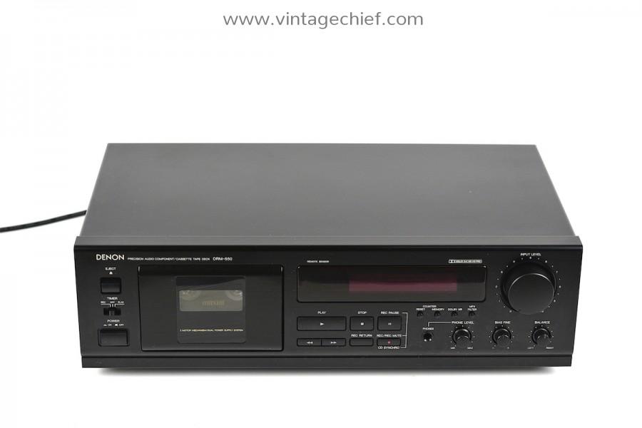 Denon DRM-550 Cassette Deck