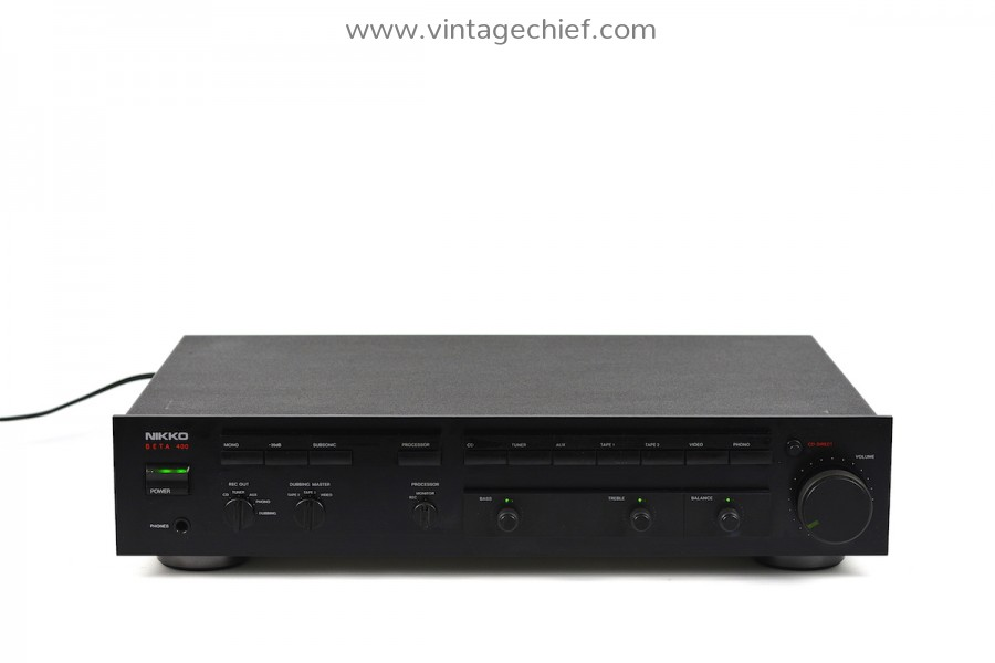 Nikko Beta 400 Preamplifier