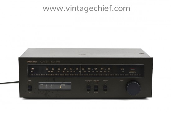 Technics ST-S1 FM / AM Tuner