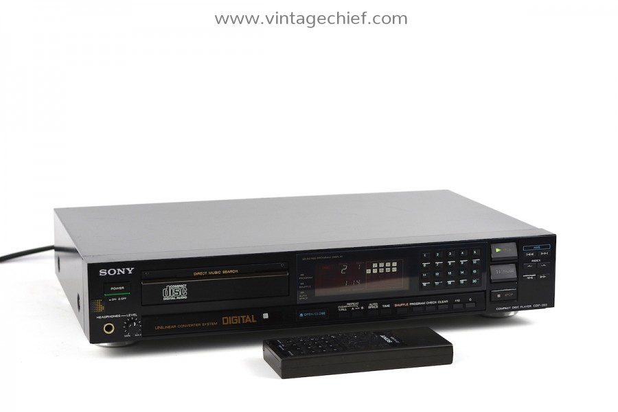 Sony CDP-203 CD Player