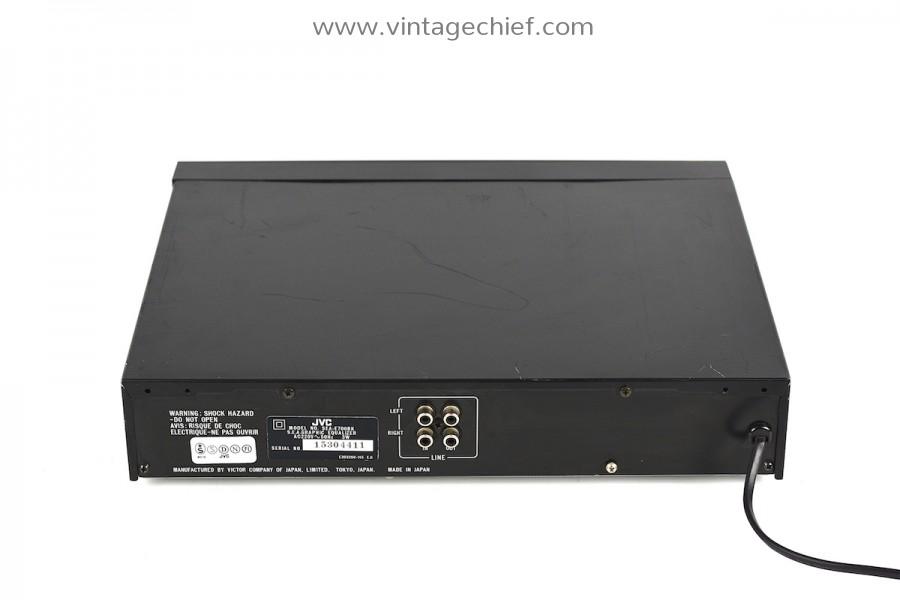 JVC SEA-E700BK Equalizer