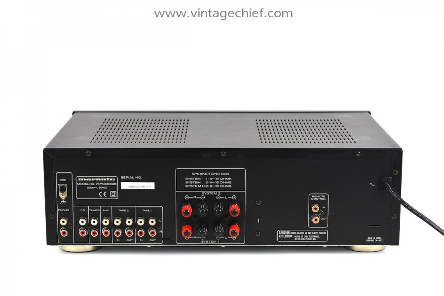 Marantz PM-48 Amplifier