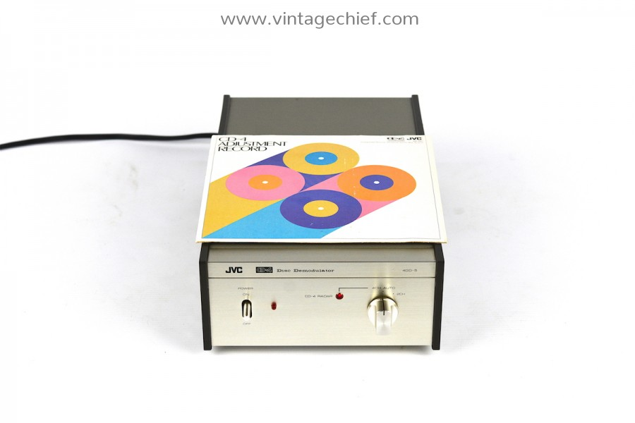 JVC CD-4 4DD-5 Disc Demodulator