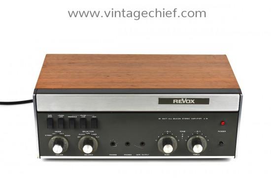 Revox A78 Amplifier