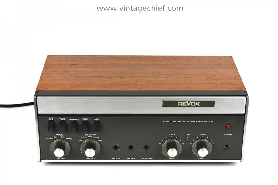 Revox A78 Amplifier