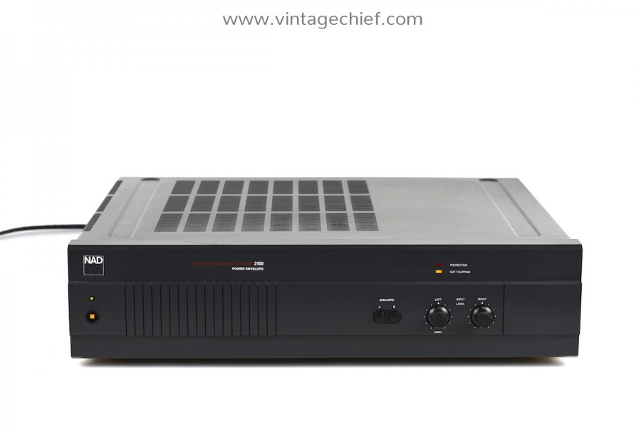 NAD 2100 Monitor Series Power Amplifier