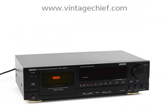 Denon DRM-710 Cassette Deck