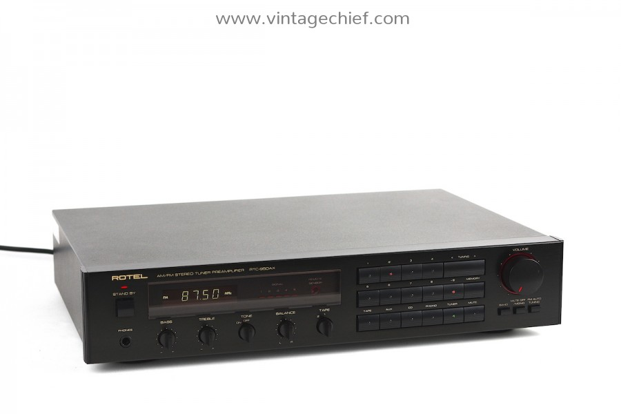 Rotel RTC-950AX Preamplifier / Tuner