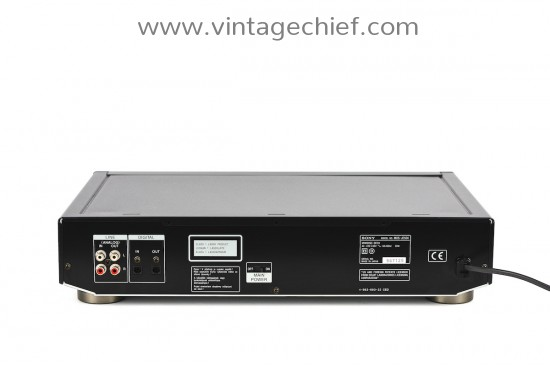 Sony MDS-JE500 MiniDisc Recorder
