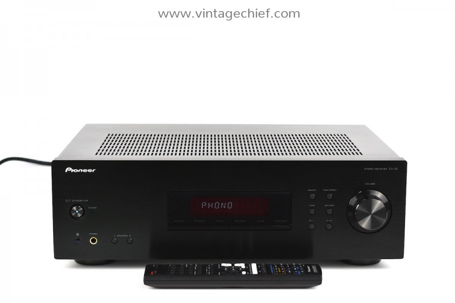 Pioneer SX-20 Receiver