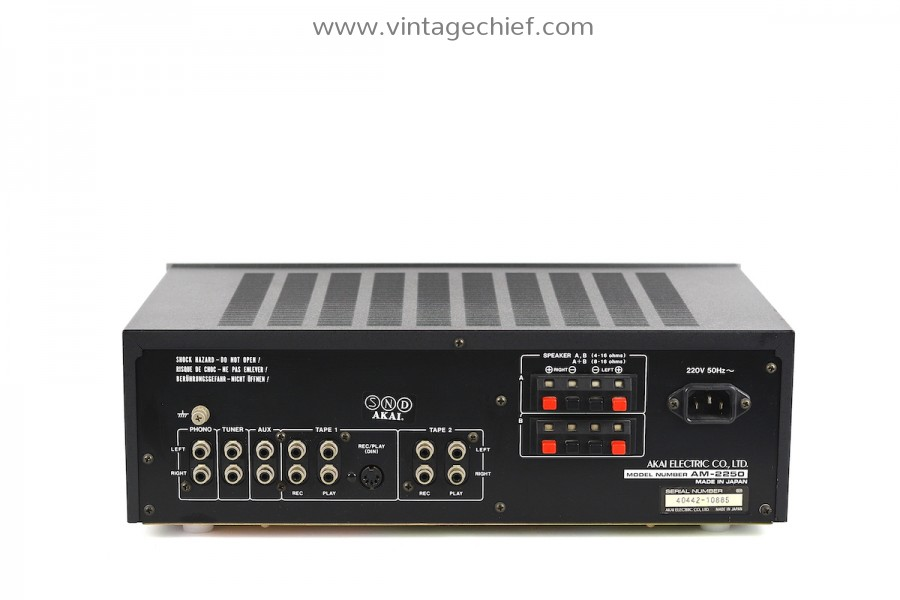 Akai AM-2250 Amplifier