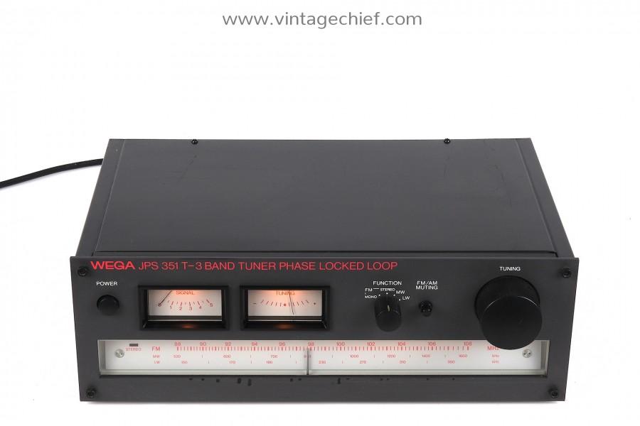 WEGA JPS 351 T-3 FM / AM Tuner