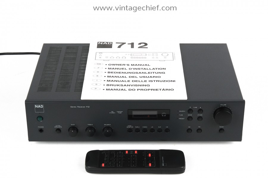 NAD 712 Receiver