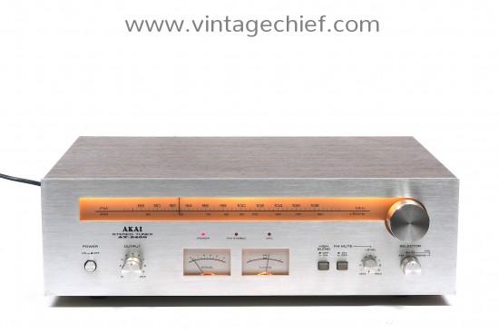 Akai AT-2400 FM / AM Tuner