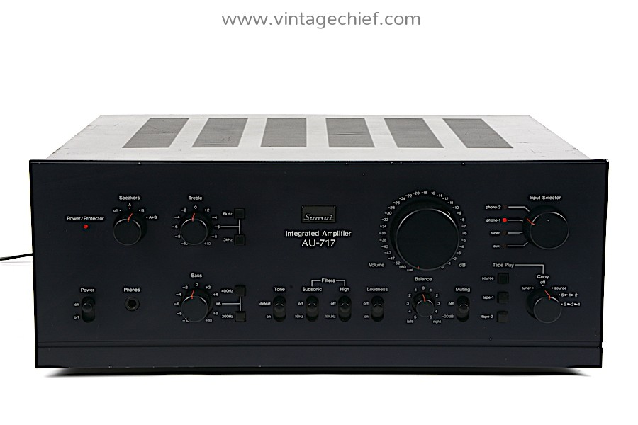 Sansui AU-717 Amplifier