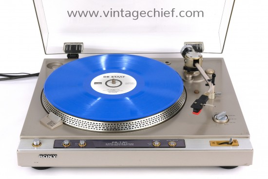 Sony PS-T30 Turntable